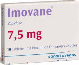 Imovane Zopiclona 7.5 mg